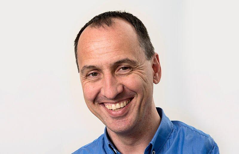 Bilde av IT-ansvarlig Peter Junk hos Antenti